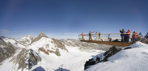 Terrazza panoramica Ghiacciai Stubai